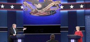Clinton hatte nach engagierter TV-Debatte die Nase vorn
