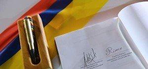Kolumbiens Regierung und FARC-Guerilla besiegelten Frieden