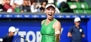 Caroline Wozniacki holte in Tokio 24. WTA-Titel