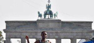 Äthiopier Bekele gewann 43. Berlin-Marathon