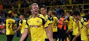 Dortmund bejubelte spätes Remis gegen Real wie Sieg