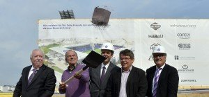 Austria Wien: Spatenstich für Neubau der Generali-Arena