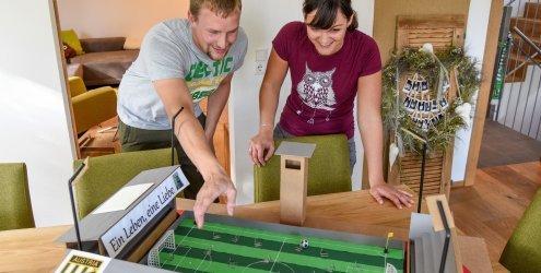 So bauen Austria Lustenau-Fans