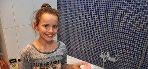 Sprudelnde Gugelhupf für die Badewanne