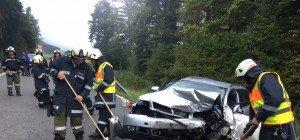 Vorarlberg: Schwerer Verkehrsunfall in Sulzberg