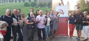 Weinverkostung beim Winzer Möth in Bregenz