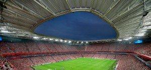 """Auswärts in Bilbao: Rapid Wiens Besuch in der """"Kathedrale des Fußballs"""""""