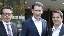 """Wirtschaftstreff: Kurz sorgte für """"Volle Hütte"""""""