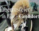 Hubertusfeier in Egg-Großdorf