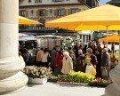 Wochenmarkt in Dornbirn ist der beliebteste Wochenmarkt im Ländle