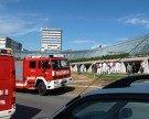 Große Feuerwehrübung beim LKH Feldkirch: Verkehrsbehinderungen