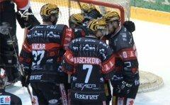 AHL-Spitzenspiel VEU Feldkirch vs. Rittner Buam