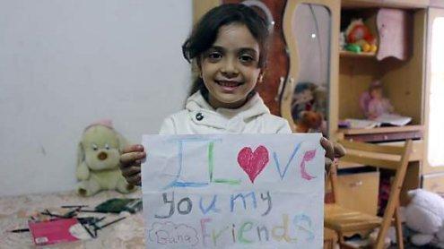 Herzzerreißende Tweets: Sorge um Mädchen aus Aleppo