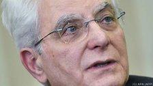 Italiens Staatschef setzt Konsultationen fort