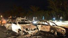 Mindestens 30 Tote bei Explosion von Tankwagen