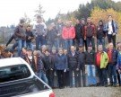 Zunftverein Au auf Herbstexcursion