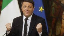 Italiens Premier Renzi tritt nicht sofort zurück