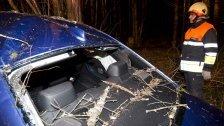 Verkehrsunfall in Göfis: Pkw kam von Straße ab