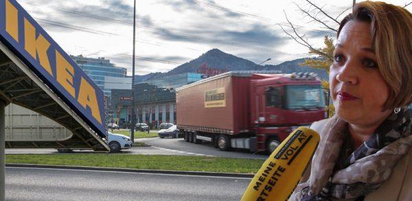 IKEA in Lustenau als Belastungsprobe für Dornbirn