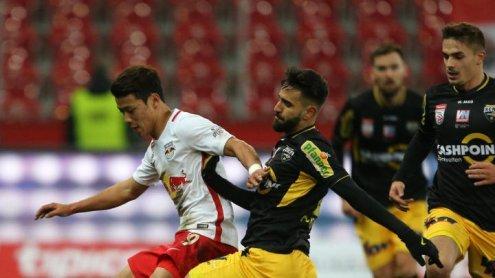 Altach kassiert erste Niederlage seit September - 1:4 in Salzburg