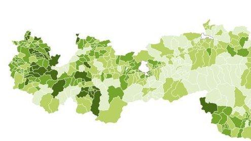 So grün ist Vorarlberg: Alle Ergebnisse aus Ihrer Gemeinde