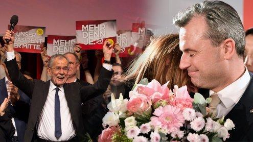 """Gewinner, Verlierer und ein """"Dämon in der Hofburg"""""""