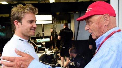"""Rosberg kontert Lauda: """"Versteh' nicht, was Niki da geritten hat"""""""