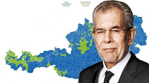 In diesen Gemeinden hatVander Bellen die Wahl gewonnen!