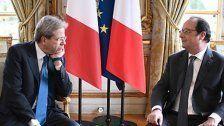 Italiens Premier Gentiloni am Herzen operiert