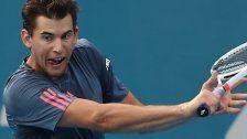 Thiem bei Australian Open in Runde zwei