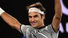 Altmeister Federer im Melbourne-Halbfinale