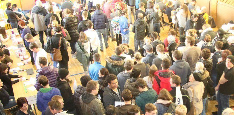 1.723 Menschen kamen am Samstag zur Typisierungsaktion nach St. Anton