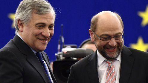 EU-Parlamentspräsident: Tajani wird der Nachfolger von Schulz