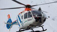 Lech: Italiener durch Lawine schwer verletzt