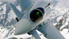 AUT-Eurofighter bald über Schweizer Alpen