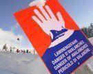 Skifahrer am Diedamskopf von Schneebrett mitgerissen