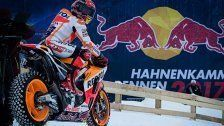 MotoGP-Weltmeister bretterte über Schnee