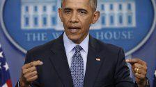 Ein Tag vor Übergabe: Obama ermahnt Trump
