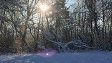 Spaziergang an der Furt: So schön ist der Winter