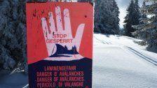Lawinengefahr in Vorarlberg erheblich