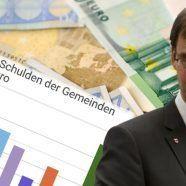 Gemeinden in Vorarlberg mit relativ hohen Schulden