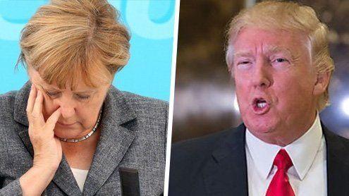 """Donald Trump: """"Merkel hat einen katastrophalen Fehler gemacht"""""""