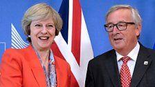 """Juncker: Brexit-Rechnung wird """"gesalzen"""" sein"""