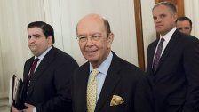 Wilbur Ross als neuer US- Handelsminister bestätigt