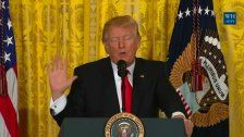 Trump verurteilt erstmals antisemitische Vorfälle