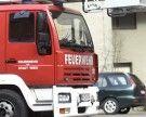 Vorarlberg: Containerbrand in Bludenz