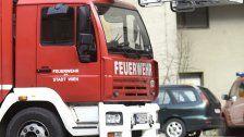 Müllcontainer sorgte für Feuerwehreinsatz