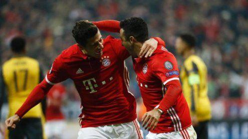 Bayern mit Heimgala vs. Arsenal - Real besiegt Neapel klar mit 3:1