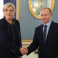 Le Pen wirbt bei Putin für gute Beziehungen zu Russland