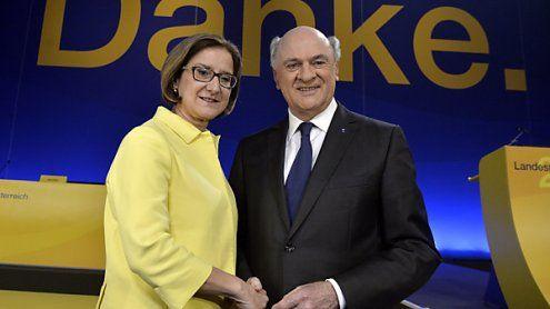 Pröll-Nachfolge: Mikl-Leitner wurde mit 98,5 Prozent gewählt